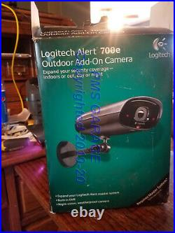 100% TESTED Logitech Alert 700e IP Network Color Security Camera with night vision