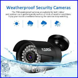 1080P 4CH DVR Home CCTV Kits 4PCS 3000TVL 2MP Security IR Camera System Outdoor