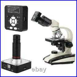 41MP Microscope USB Industrial HD Digital Camera with Adapter 0.5X Eyepiece Lens