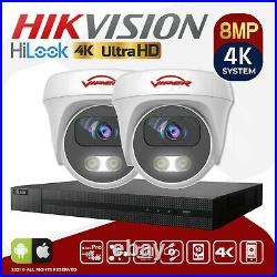 4k Colorvu Cctv Security System 8ch 4ch Uhd Kit Viper Pro Tvi CVI Ahd 8mp Camera