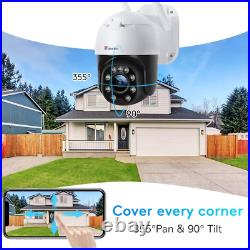 5MP Security Camera Outdoor with Color Night Vision Ctronics PTZ Digital Zoom IP