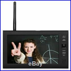 7 Wireless Monitor 2.4GHz 4CH CCTV DVR Kit Cameras Audio Security System NEW