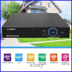 8CH 1080P DVR 4/8x 3000TVL Outdoor 2MP IR Night CCTV Security Camera System HDD