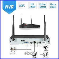 8CH Home Security Camera System Wireless Audio 1080P Outdoor CCTV WiFi Waterproo