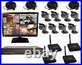 8 Channel Sony (bullet Camera) Color Wireless Digital Video Recording System