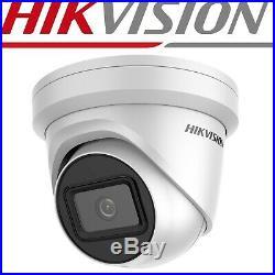 8mp Ip Poe Cctv Camera 4k Hikvision Darkfighter Ds-2cd2385g1-i Dome Color Night