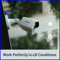 ANNKE CCTV 4K 8MP 8CH DVR 8MP Full Color Camera IP67 Security System 4000K Light
