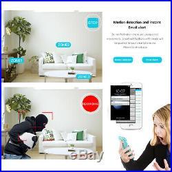ANRAN Security Camera System Wireless CCTV 1080P NVR 4 6 8PCS 1/2TB HDD Audio I