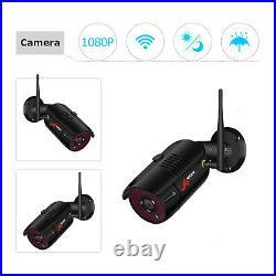 ANRAN Wireless Security Camera SystemOutdoor IR Night 8CH HD 1080P Wifi CCTV NVR