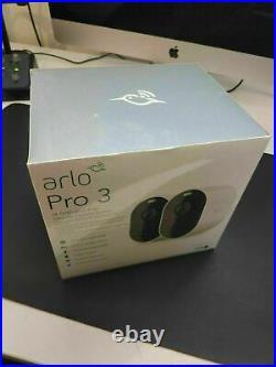 ARLO Pro 3 2K WiFi Security Camera System 2 Cameras, White
