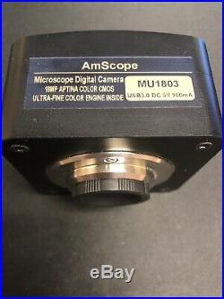 AmScope 18mp USB 3.0 Ultra Fine Color Microscope Digital Camera