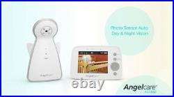 Angelcare AC1300 Baby Monitor VIDEO MOVEMENT & SOUND Zoom Camera DIGITAL DISPLAY