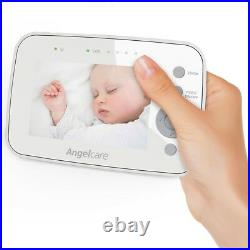 Angelcare AC1320 Digital COLOUR VIDEO Sound BABY MONITOR Zoom Camera 3.5 Screen