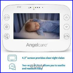 Angelcare AC320 Digital COLOUR VIDEO Sound BABY MONITOR Zoom Camera Cam DECT NEW