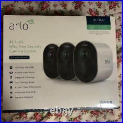Arlo 4K Ultra Wireless 3 Camera System