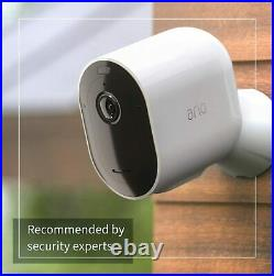 Arlo Pro3 Smart Home Security Camera CCTV system and Securty Mount bundle, 2 Cam