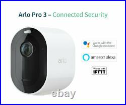 Arlo Pro3 Smart Home Security Cameras Alarm Rechargeable Colour Night Visi