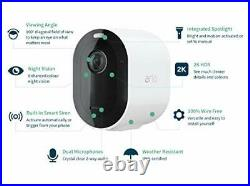 Arlo Pro3 Wireless Home Security Camera System CCTV, Wi-Fi, 6-Month Battery