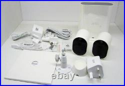 Arlo Pro 3 Spotlight 2 Camera Security System Wireless, 2K Video, VMS4240P