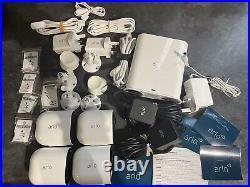 Arlo Ultra 4K UHD Indoor/Outdoor 4x Camera Security System, 3840x2160, IRNV, Spo