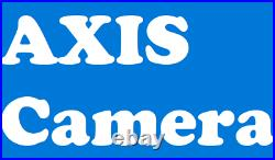 Axis 0328-001 P1346 3MP Surveillance/Network Camera Color Cable