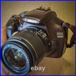Canon EOS Rebel T3/1100D LE color Digital Camera with EF-S 18-55mm only 6153 shots