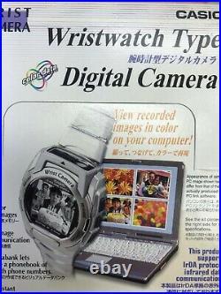 Casio WQV-3D-8E Rare Wrist Digital Color Camera Mens Watch WQV-3 Boxed New