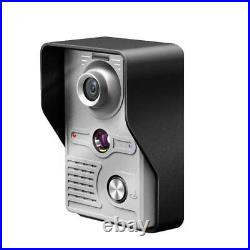 Doorbell Monitor Camera Kit 7 Inch 220v Wired Video Phone Visual Intercom System