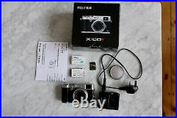 Fujifilm X100T Digital Camera Silver colour Used with Box