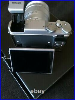 Fujifilm x 10 Digital camera with xc16 50 lens colour black and silve