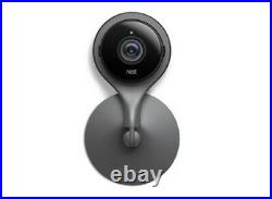 Google Nest Indoor Cam 1080p Smart Security Camera Black