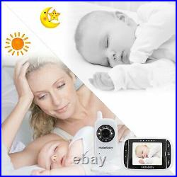 HelloBaby HB32 Digital VIDEO & SOUND Baby Monitor 3'2 Inch COLOUR LCD Screen VGC