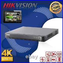 Hikvision 4k Cameras System Ds-2ce72hft-f 5mp Colourvu Cctv Dvr Dome Ip67 20m Ir