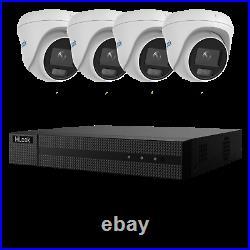 Hikvision Poe Cctv System 5mp Colorvu Ip Camera 30m White Light Outdoor Nvr Kit