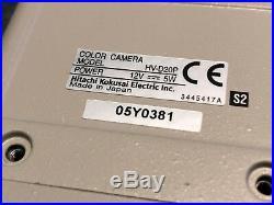 Hitachi Hv-d20p (hv-d30p) 3ccd Pal Digital Color Video Camera
