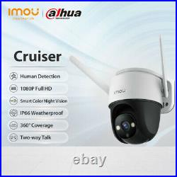 IMOU 1080P Wi-Fi Outdoor PTZ Camera Audio Full Color Night Vision with Floodlight