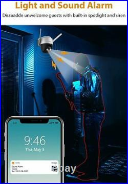 IMOU Wi-Fi Outdoor PTZ Camera IP66 Audio Full Color Night Vision with Floodlight