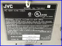 JVC TM-A9U Color 9 Video Editing Monitor with Digital Inspection Security Camera