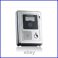 KOCOM KCV-372W 2 Color Video InterPhone + 1 Door Camera Security Intercom