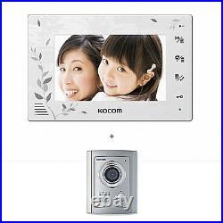 KOCOM KCV-376 Color Video Digital InterPhone KC-C71 DoorCamera Security Intercom