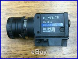 Keyence CV-035C Color CCD Hi-Speed Digital Camera