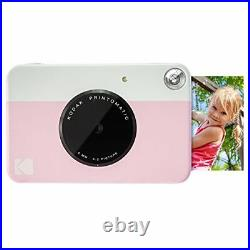 Kodak PRINTOMATIC Digital Instant Print Camera (Pink), Full Color Prints On ZINK