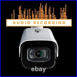 LOREX C861MB 4K 8MP Ultra HD Metal Security Camera Audio & Night Color 2-pack