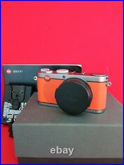 Leica X X1 12.2MP Digital Camera Designer model color! Boxed