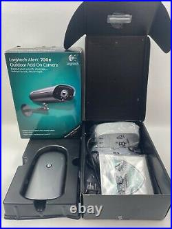 Logitech Alert 700e Replacement IP Network Color Security Camera with Night Vision