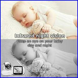 Motorola MBP36S-2 Video Baby Monitor 2-Cameras, 3.5 LCD Color Screen