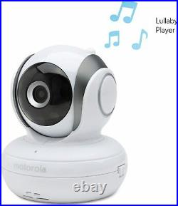 Motorola MBP36 Remote Wireless Video Baby Monitor Camera Colour Tilt Zoom Pan