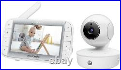 Motorola MBP50A Twin Digital 5 Inch Colour Video Baby Monitor with 2 Cameras