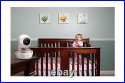 Motorola MBP855 Portable Baby Monitor 5 Color Screen Video Camera Wifi White