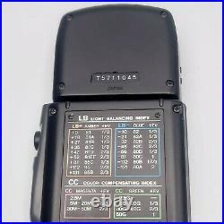 Near MINT Konica Minolta Color Meter IIIF III F Digital Flash From JAPAN